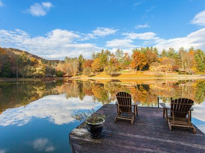 Photo for 3BR Lake House w/ Private Deck and Pier – Short Drive to Shops & Dining