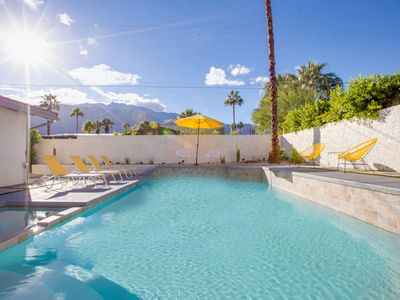 Photo for Lemon Twist - Read The Reviews! Very Private Palm Springs Pool Yard!