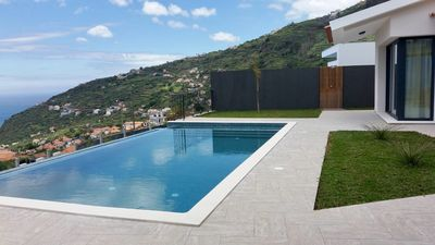 Photo for Palheiros Villa - A Magnificent Ocean View (Just 99 € In March !! )