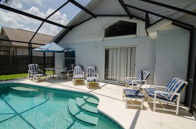 Make the most of the great Florida weather, 23' screened and private pool
