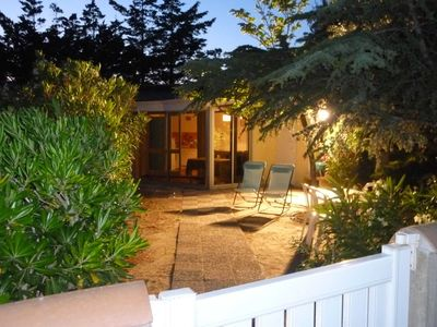 Photo for House Garden Wifi -100 m wild beach - 20 min from Perpignan