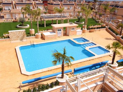 Photo for DUPLEX LOMAS DE CABOROIG WITH HEATED POOL