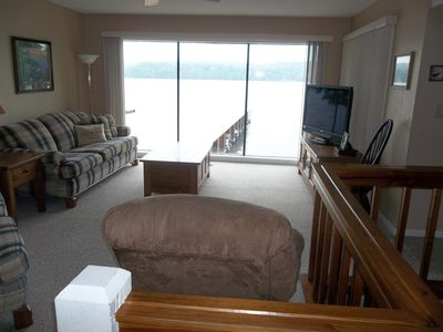 Photo for MUST SEE!! Great View!! Beautiful 2 Level Condo, Close to Dock , FREE NIGHT!!
