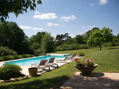 Photo for Refurbished Stone Built Farmhouse with Large Pool Set in 7 Acres