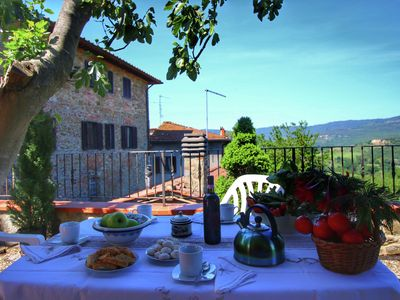 Photo for Tastefully decorated holiday home on a large estate in the Chianti region