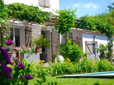 Photo for Villa in Provence private pool and landscaped garden