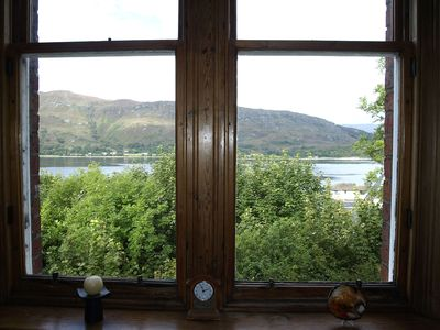 Photo for A large, comfortable apartment with great views  close to Fort William  centre.