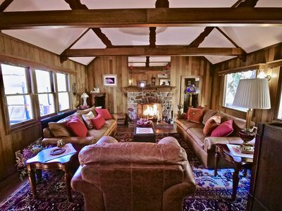 """Photo for NEW LISTING: Charming """"Rocky Mountain Lodge"""" Log Home 4 Bedrooms"""