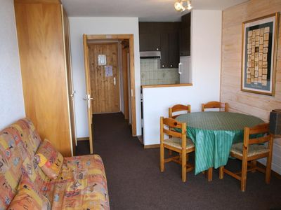 Photo for Comfortable 2* studio for 2-4 people next to the ski lift. Fully equiped kitchen with dishwasher, ov