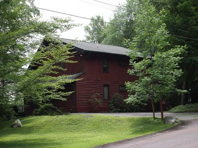 """Photo for Spectacular views of the mountains at """"Eagles Mere Log House"""" in Eagles Mere"""