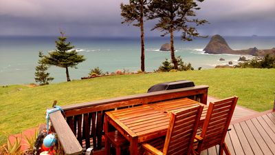 Photo for Spectacular Panoramic Views of Majestic Coastline. Private and comfortable home!