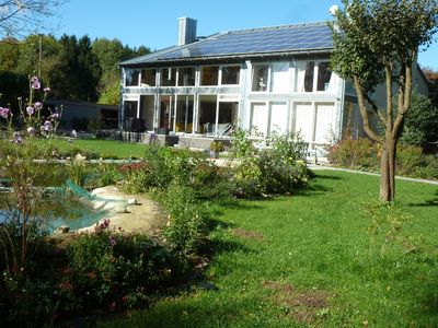 Photo for Spacious and luxurious house with swimming pond, located in the east of Munich