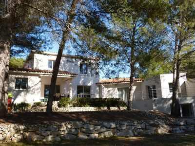 Photo for Modern family villa 230 m², Swimming pool, Montpellier, Beaches, Pic st Loup