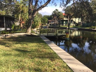 Mobile Home On Canal And Quiet Neighborhood