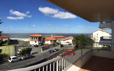 Photo for Apartment T3 sea view Anglet Chambre d'amour