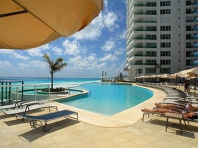 Photo for Luxurious Beach Front 3 Bedrooms Condo