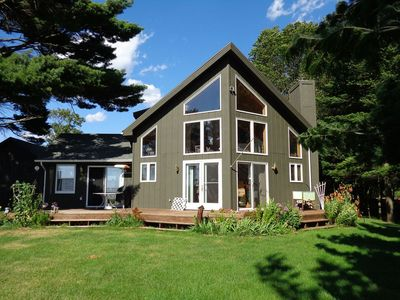 Photo for Situated Directly on Lake Petenwell ~ Entire House ~Near Sand Valley Golf Course
