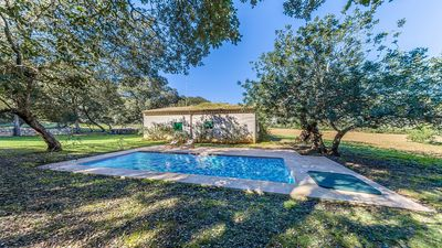Photo for Quaint Cottage with Private Pool, Views to Tramuntana Mountain Range but close to Pollensa Town!