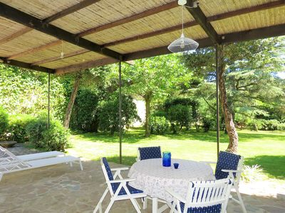 Photo for House with beautiful garden - Private beach with matress