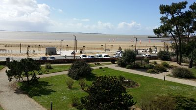 Photo for Apart. w/ panoramic sea view facing beach for 6 people, Saint-Georges-de-Didonne