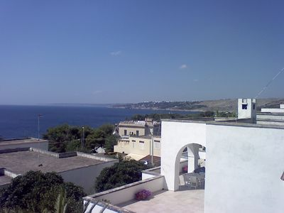 Photo for Spacious apartment at Santa Cesarea sea near Otranto
