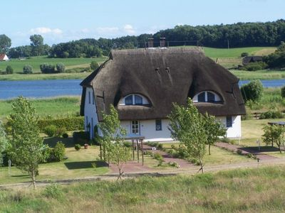 Photo for Thatched cottage with lake view in a quiet environment, Pets Allowed