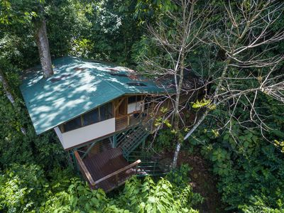 Photo for Awesome Treehouse in Rainforest 5min From Private Waterfall
