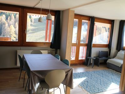 Photo for Plagne Center - Large renovated apartment - Résidence Everest
