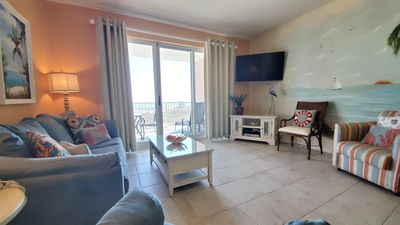 Photo for Dunes 501, Pet Friendly, 2/2 Condo. Gulf Views, Short walk to the Beach! WIFI!