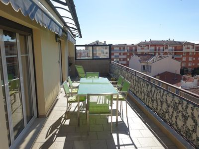 Photo for RESIDENCE LE VENISE - 3 ROOMS APARTMENT WITH LARGE TERRACE - MENTON CENTER