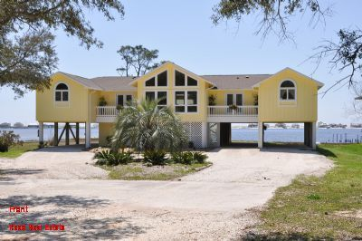Photo for Poppy's Place - Absolutely Gorgeous Large 3 Br Home on Little Lagoon with Private Pier, Sleeps 7