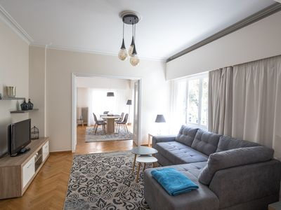 Photo for Kolonaki Chic-Center newly Renovated Apartment