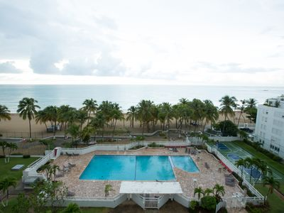 Photo for Beautiful Oceanfront Condo on Isla Verde Beach