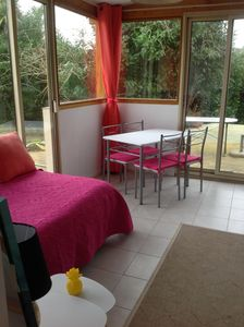 Photo for Two-room apartment + furnished terrace comfort