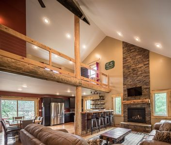Photo for *Luxurious Turkey Run*5BR Cabin tucked in the pines just minutes from downtown*