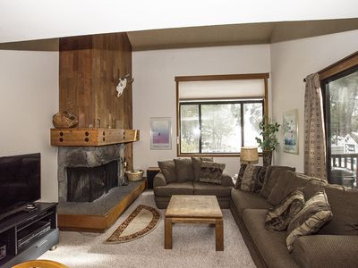 Photo for 4br Condo by Alpine and Squaw, overlooking Truckee River. HOA Amenities!
