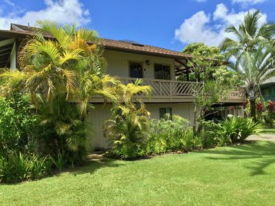 Photo for Best Location! 2 Minutes to Hanalei Beach in the Desirable  Palms neighborhood