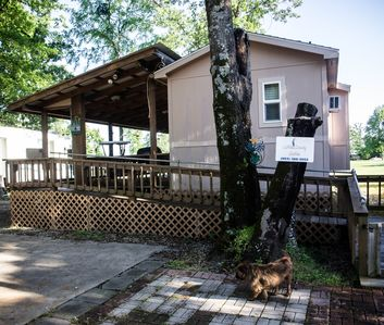 Photo for Little Caney Cabin on Lake Fork - Lakeviews and Free Boat Drop - Pet Friendly