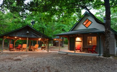 Photo for Shady Bend has 2 cabins,sleeps 8 comfortably, 1 mile from W/P south trailhead