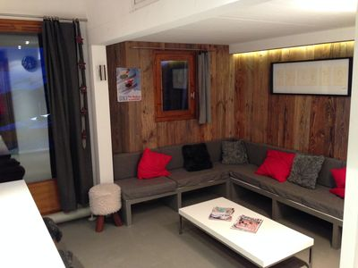 Photo for DUPLEX APARTMENT IN PLAGNE SOLEIL AT THE FOOT OF TRACKS