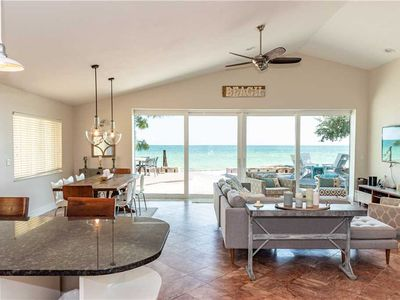 Photo for Beachfront home with Beautiful Views and December Deals! Reserve Today and Save!