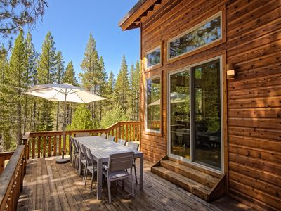 Photo for Chic 3BR Truckee Retreat with Tahoe Donner Access – Stay & Play!