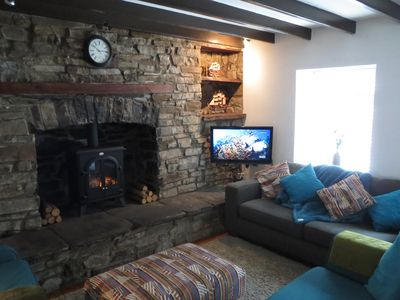 Photo for Traditional cosy cottage in the Brecon Beacons