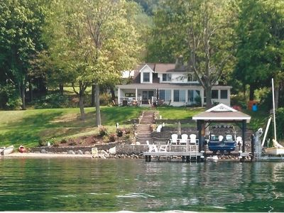 Photo for Canandaigua Lake Waterfront Beauty - Relax at the DeMarco House!