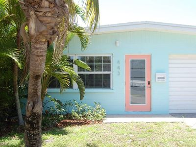 Photo for Steps to the beach & free trolley! Private yard, close to everything in AMI!