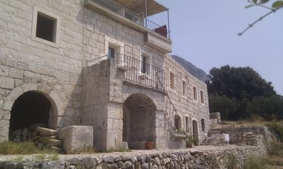 Photo for Renovated stone house, modern renovated, in a very nice environment