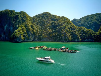 Photo for Jeanneau Leader 36 Yacht Charter - Vietyacht Marina Club Halong Bay Cruise