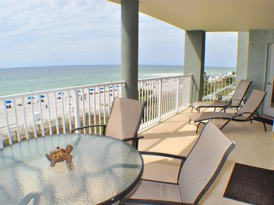 Photo for Long Beach 2 BR/2BA  Beach Front, Tower 1, third floor Close to Pineapple Willys