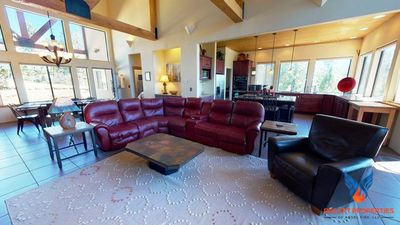Photo for Luxury, Hot Tub, Gas Fire-pit, Breath-Taking Views, Alpine Crest!