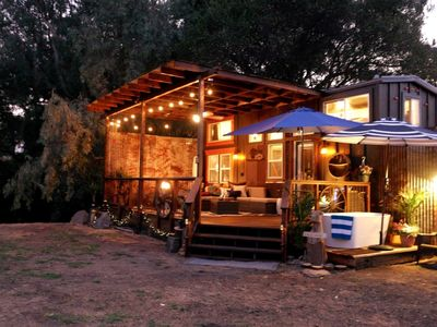 Photo for Luxury Private TINY HOUSE on 10 Remote Acres
